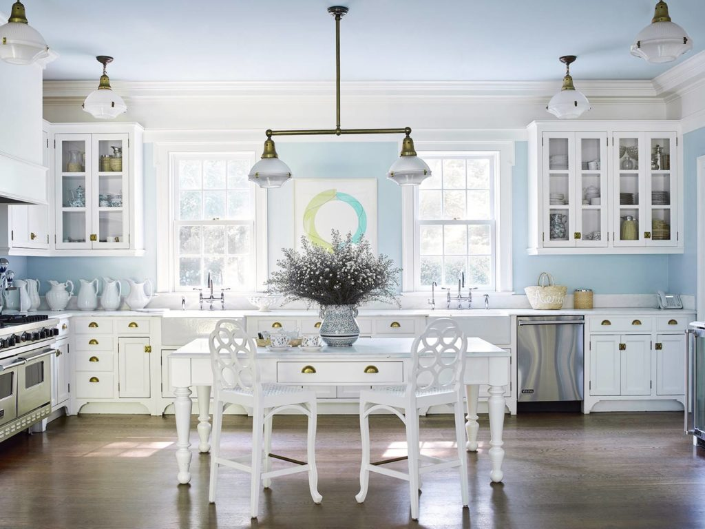 Aerin Lauren's Kitchen in her Hamptons House | Rhyme & Reason