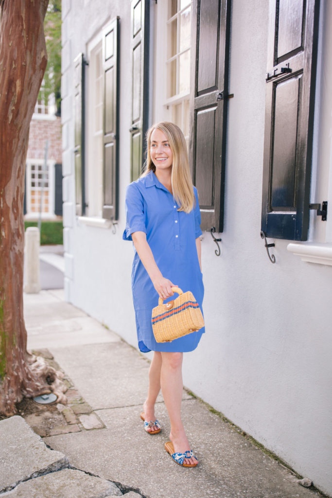 Casual shirt dresses to wear to an outdoor summer bbq | Rhyme & Reason