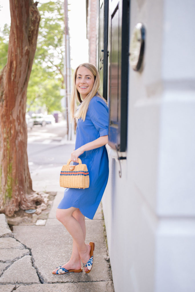 The perfect shirt dress for your next summer bbq | Rhyme & Reason