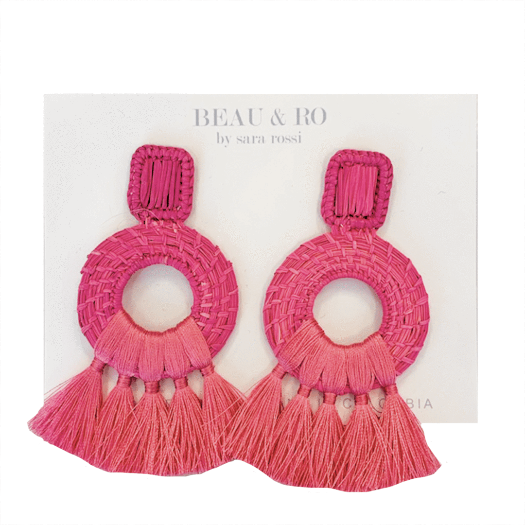 My Favorite Jewelry Designers For Unique Jewelry: Beau & Ro Rassel Earrings
