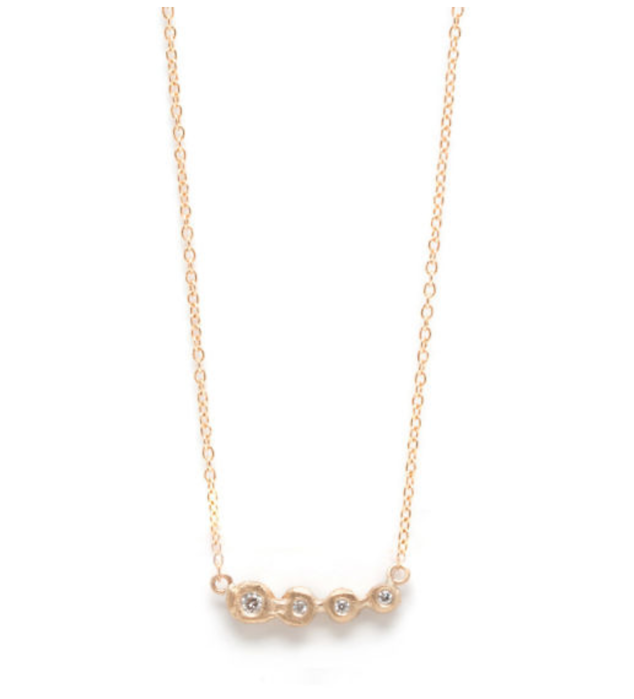 My Favorite Jewelry Designers For Unique Jewelry: Jane Pope Jewelry FOUR POINT DIAMOND NECKLACE