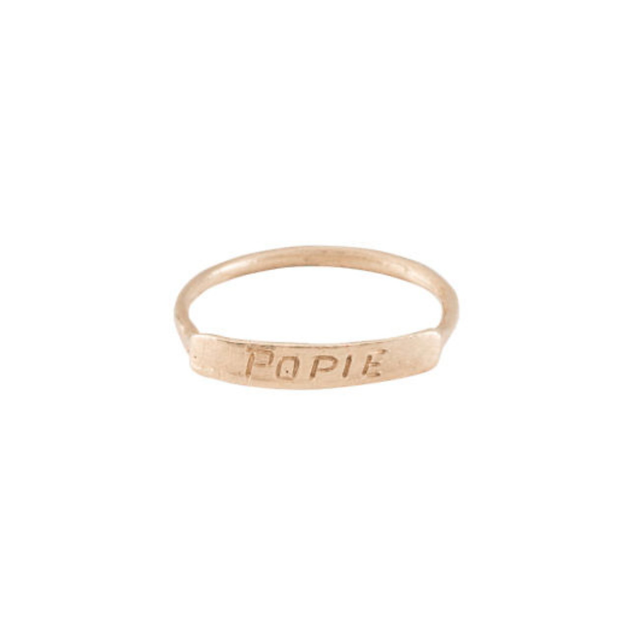 My Favorite Jewelry Designers For Unique Jewelry: Jane Pope Jewelry Name Ring