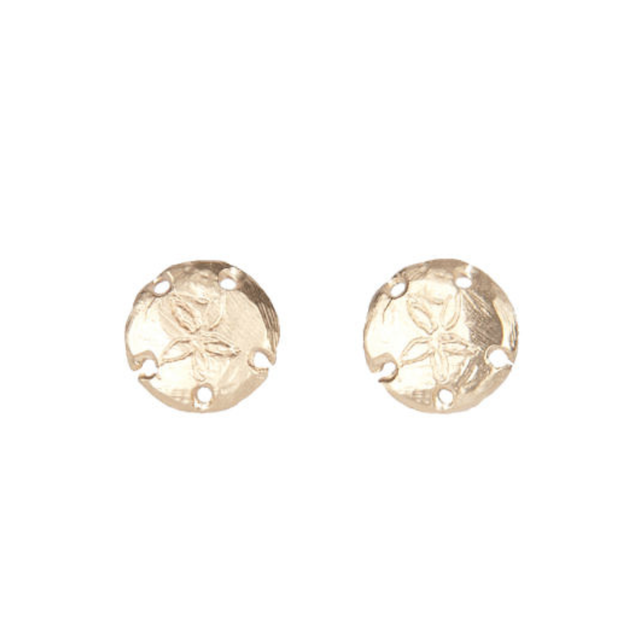My Favorite Jewelry Designers For Unique Jewelry: Jane Pope Jewelry Sanddollar Studs