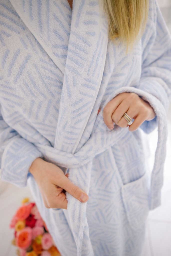 Weezie Towels Pattern Robes to Stay Cozy at Home in | Rhyme & Reason