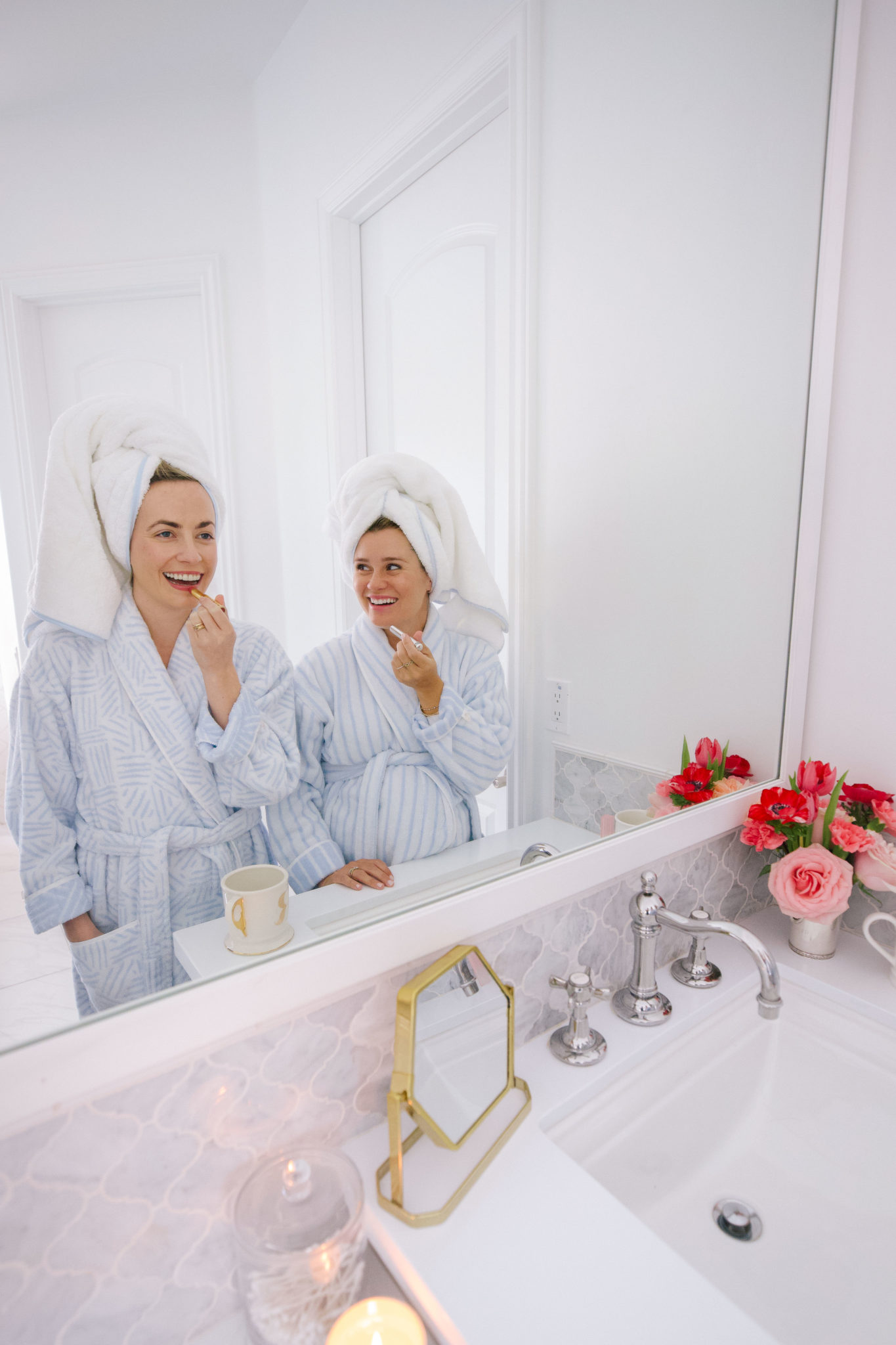 The best robes to get ready in from Weezie Towels | Rhyme & Reason