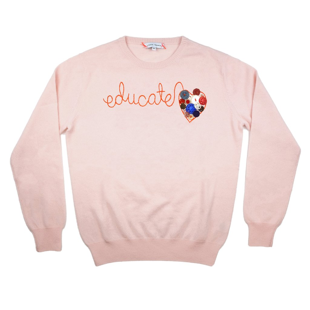 Where To Buy Unique Sweaters: Lingua Franca Educate | Rhyme & Reason