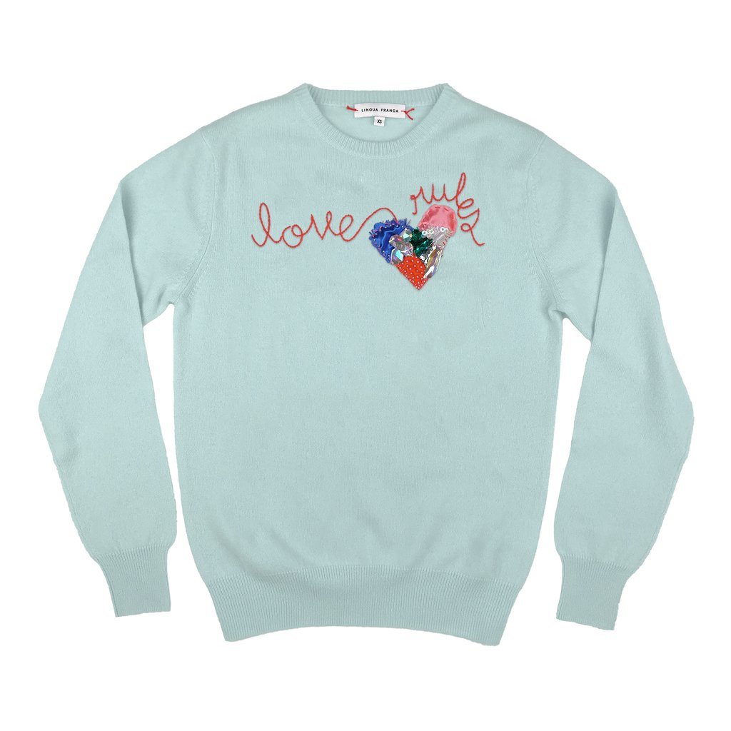 Where To Buy Unique Sweaters: Lingua Franca Love Rules | Rhyme & Reason