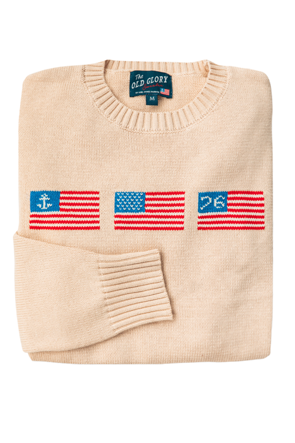 Where To Buy Unique Sweaters: Kiel James Patrick Old Glory Sweater | Rhyme & Reason