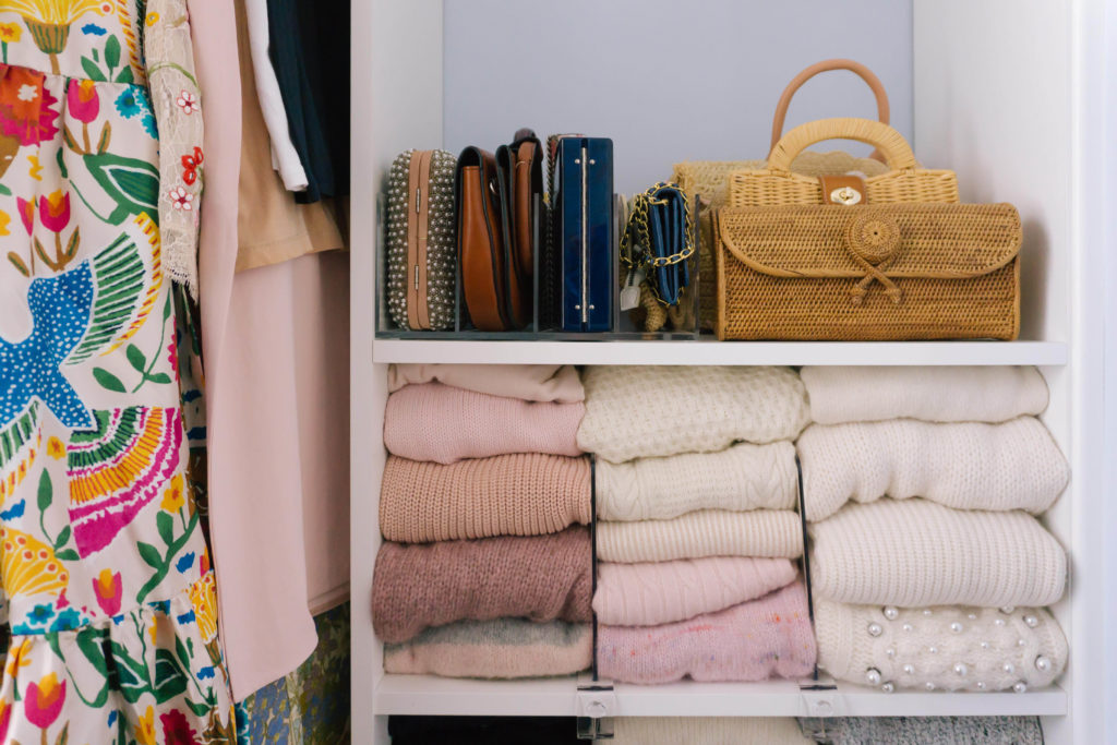 How To Store Purses In Your Closet | Rhyme & Reason