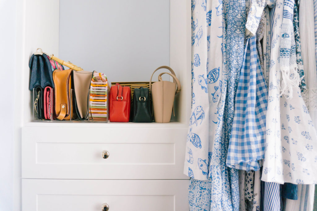 How To Store Purses In Your Closet