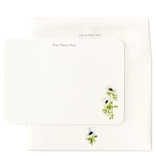 Summer Party Hostess Gifts: Felix Doolittle Anemone Blossoms Stationery