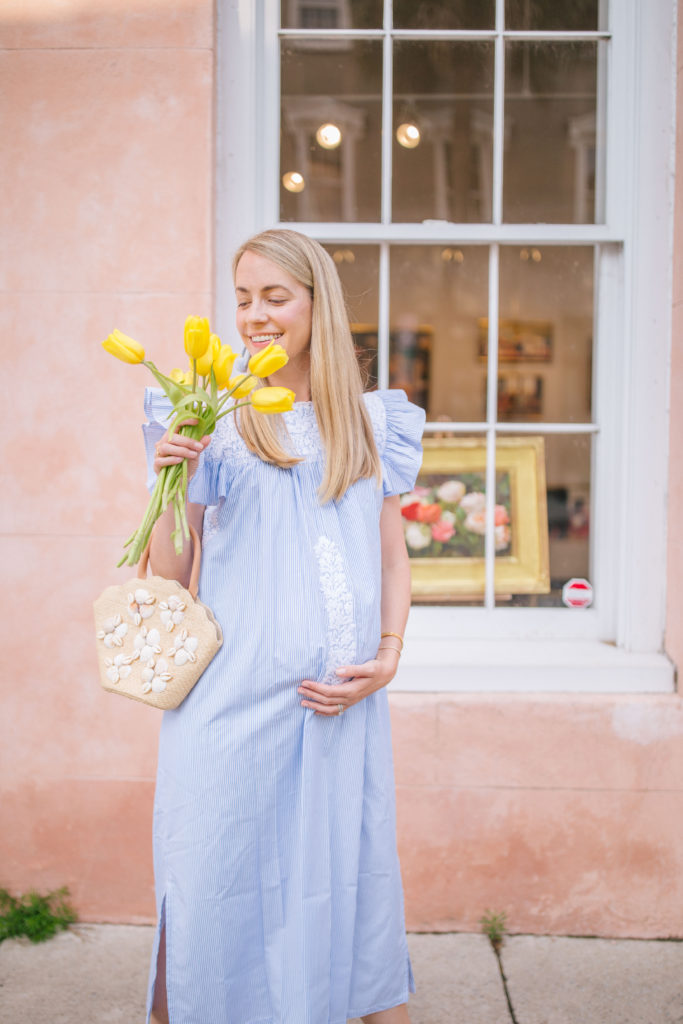 The prettiest blue and white dresses to wear summer 2020 | Rhyme & Reason