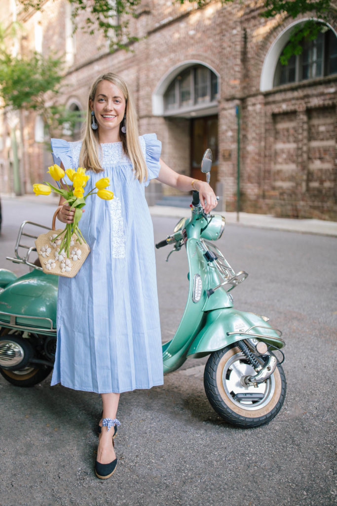 An Embroidered Dress for | Rhyme & Reason