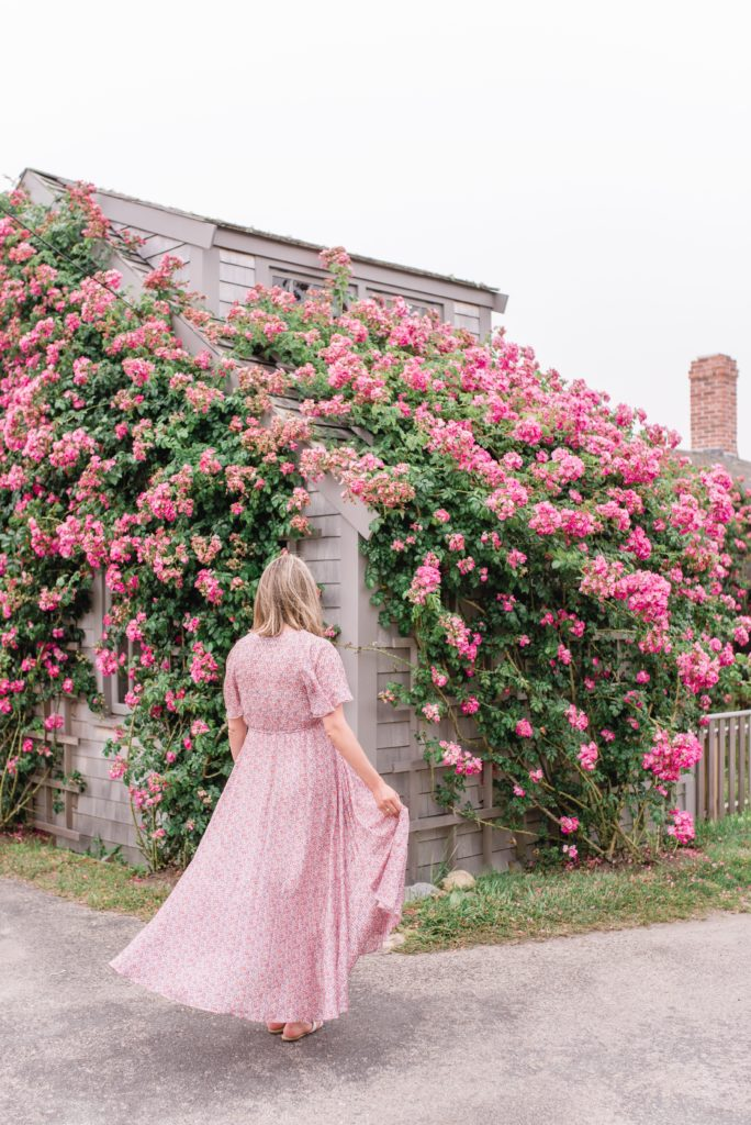 Jillian Eversole on Nantucket Island with a Rose Covered Shingled Home + Weekend Reads, No. 136 | Rhyme & Reason