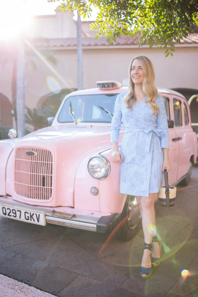 Jillian Eversole shares the wrap dress she can't live without | Rhyme & Reason