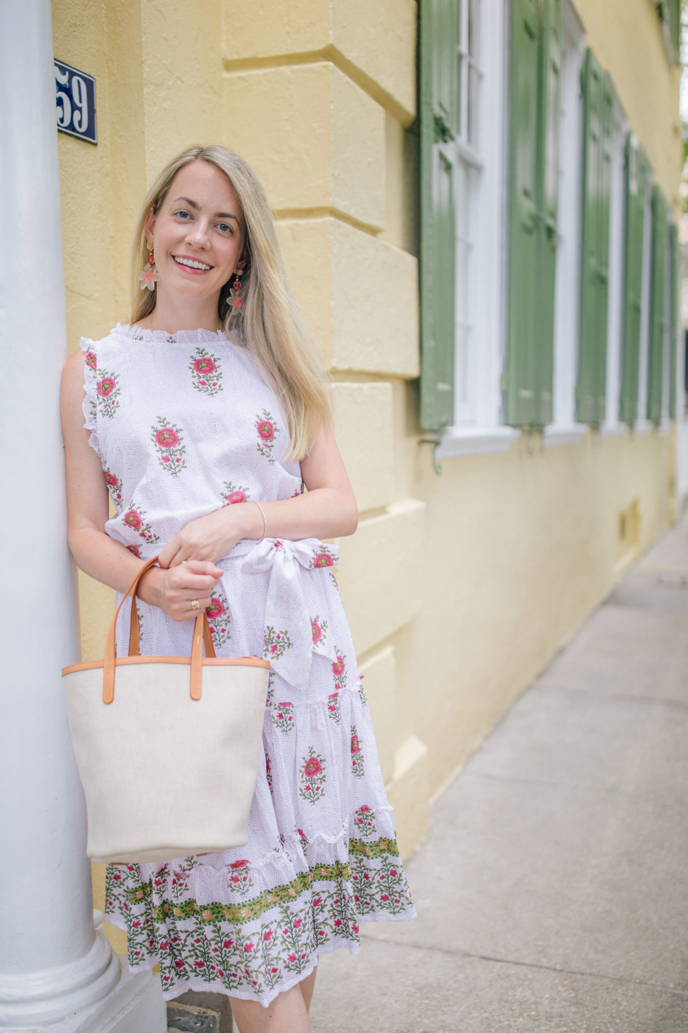 Dreamy block print dresses for summer | Rhyme & Reason