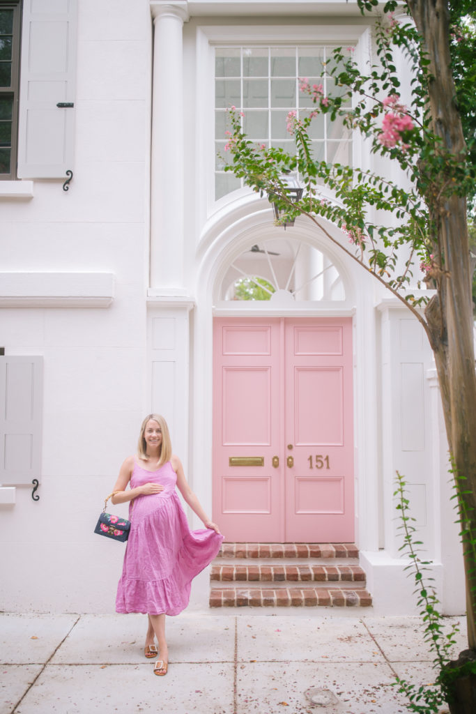 Pink on Pink in Charleston + Weekend Reads, No. 141 | Rhyme & Reason
