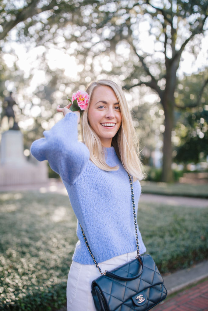 Classic Outfits To Recreate With The Nordstrom Anniversary Sale - Colorful Sweaters