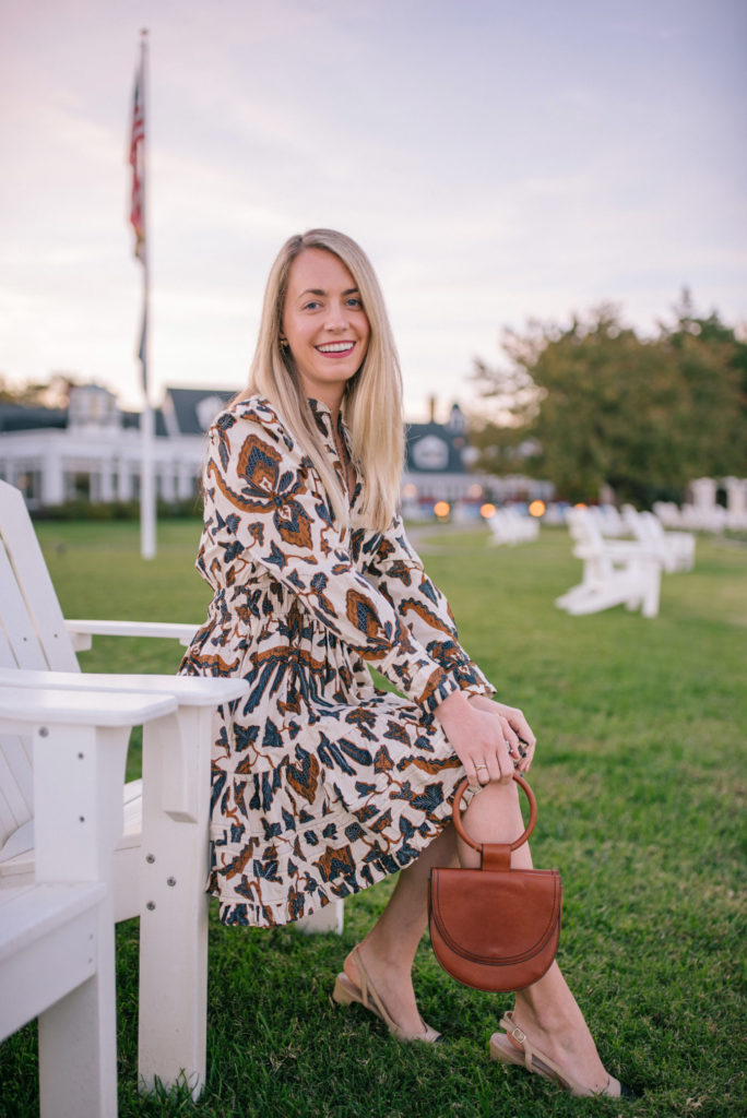 Patterned fall dresses to shop on sale now | Rhyme & Reason