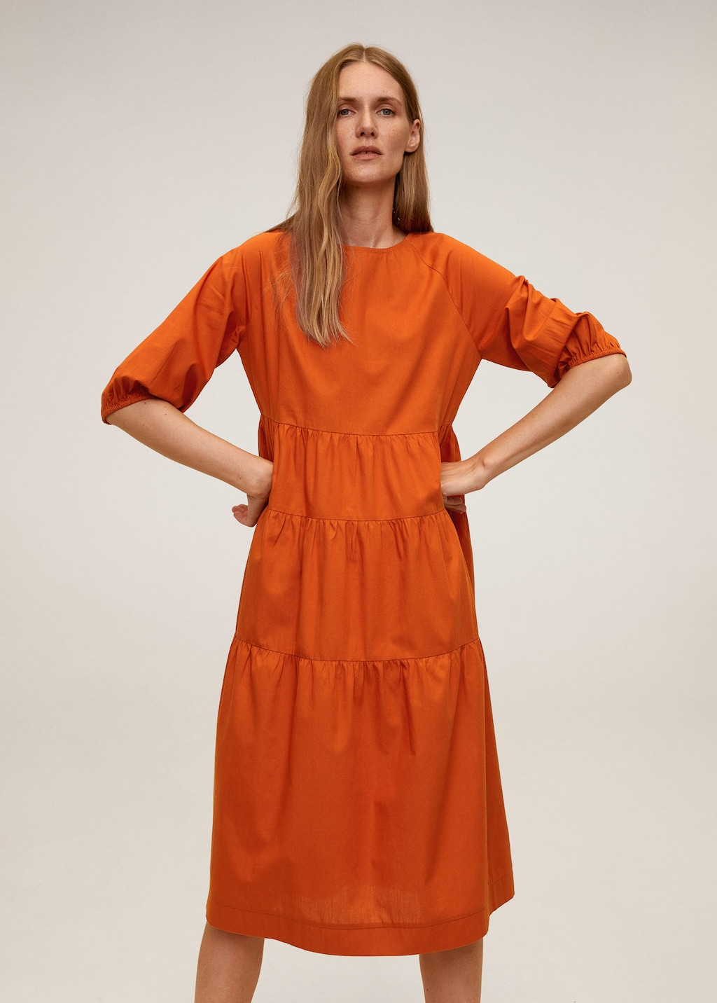 autumn colored dresses for a casual Thanksgiving