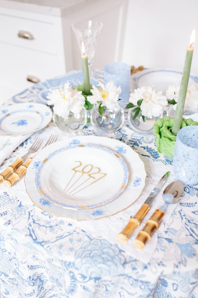 Setting a Fresh Table for the New Year | Rhyme & Reason 1