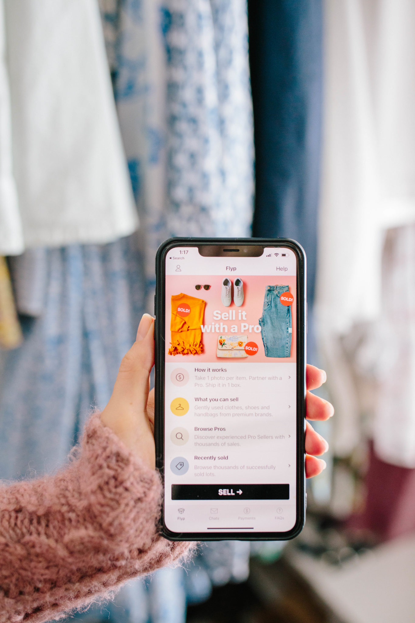 Flyp Review: Decluttering My Closet for the New Year