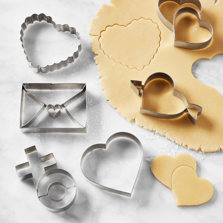 Valentines Stainless-Steel Cookie Cutters