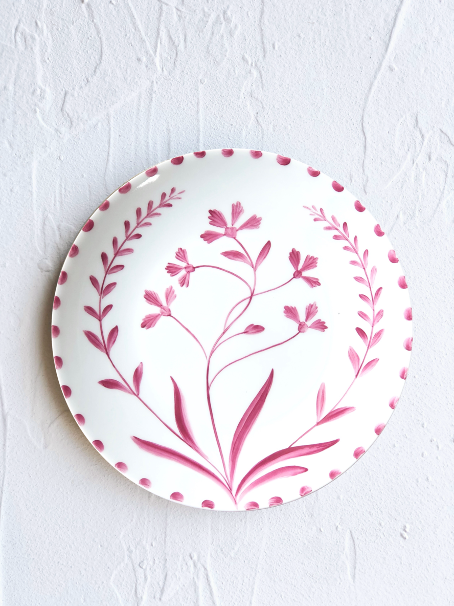 The Ark Elements Ruby Bloom Plates