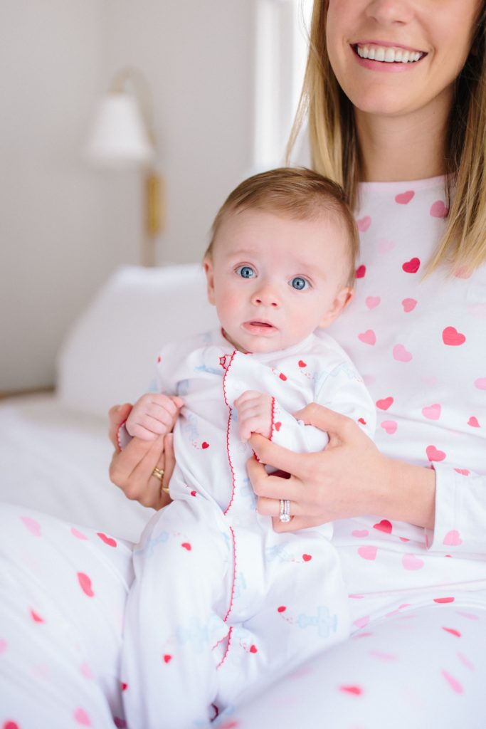 Valentines Day For You And Your Littles | The cutest Valentine's Day Pajamas for moms and littles | Rhyme & Reason
