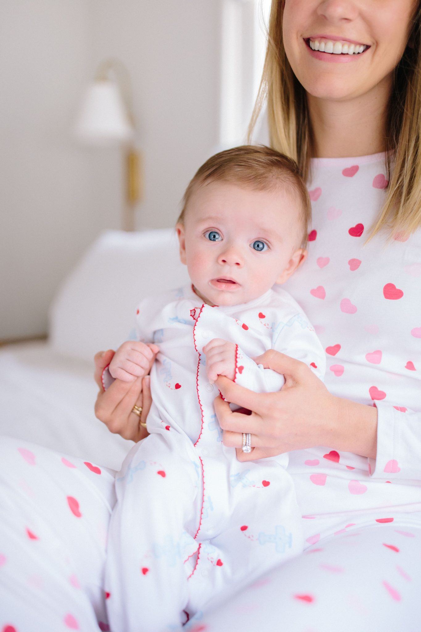 The cutest Valentine's Day Pajamas for moms and littles | Rhyme & Reason