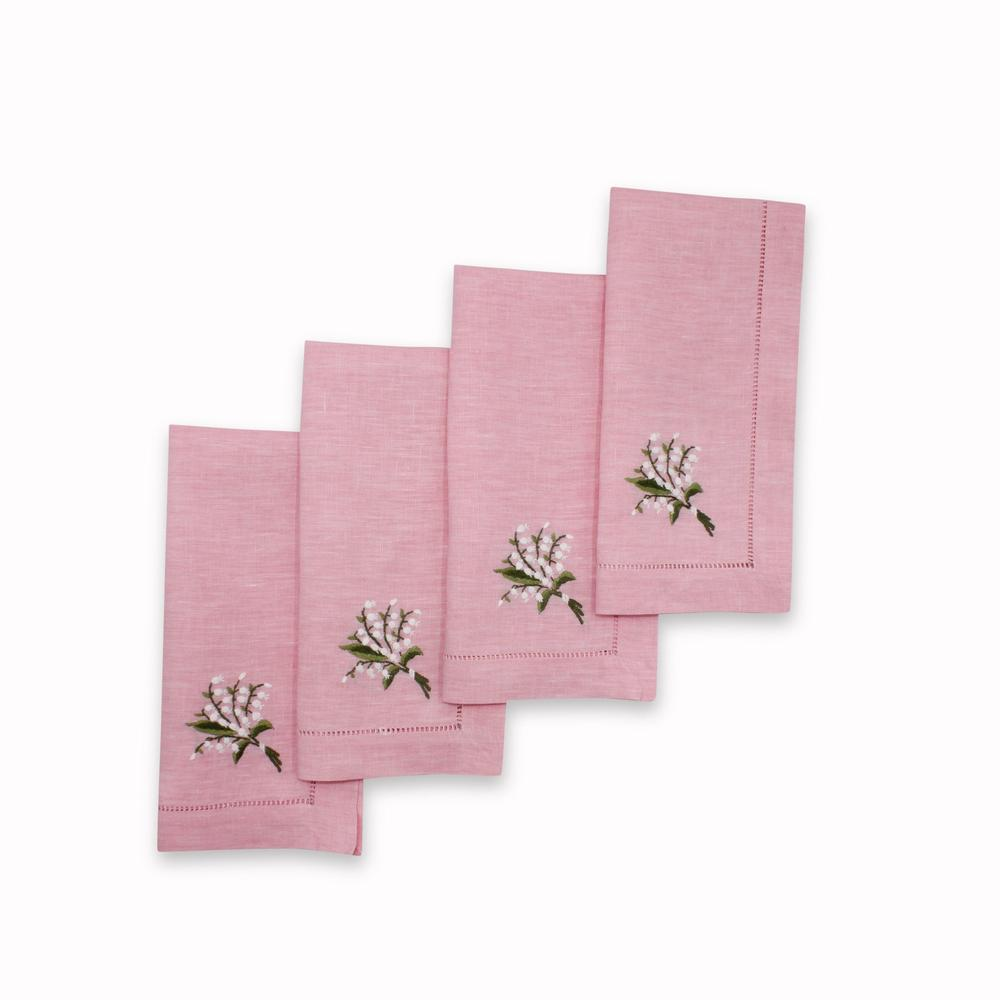 Chefanie Lily of the Valley Dinner Napkins
