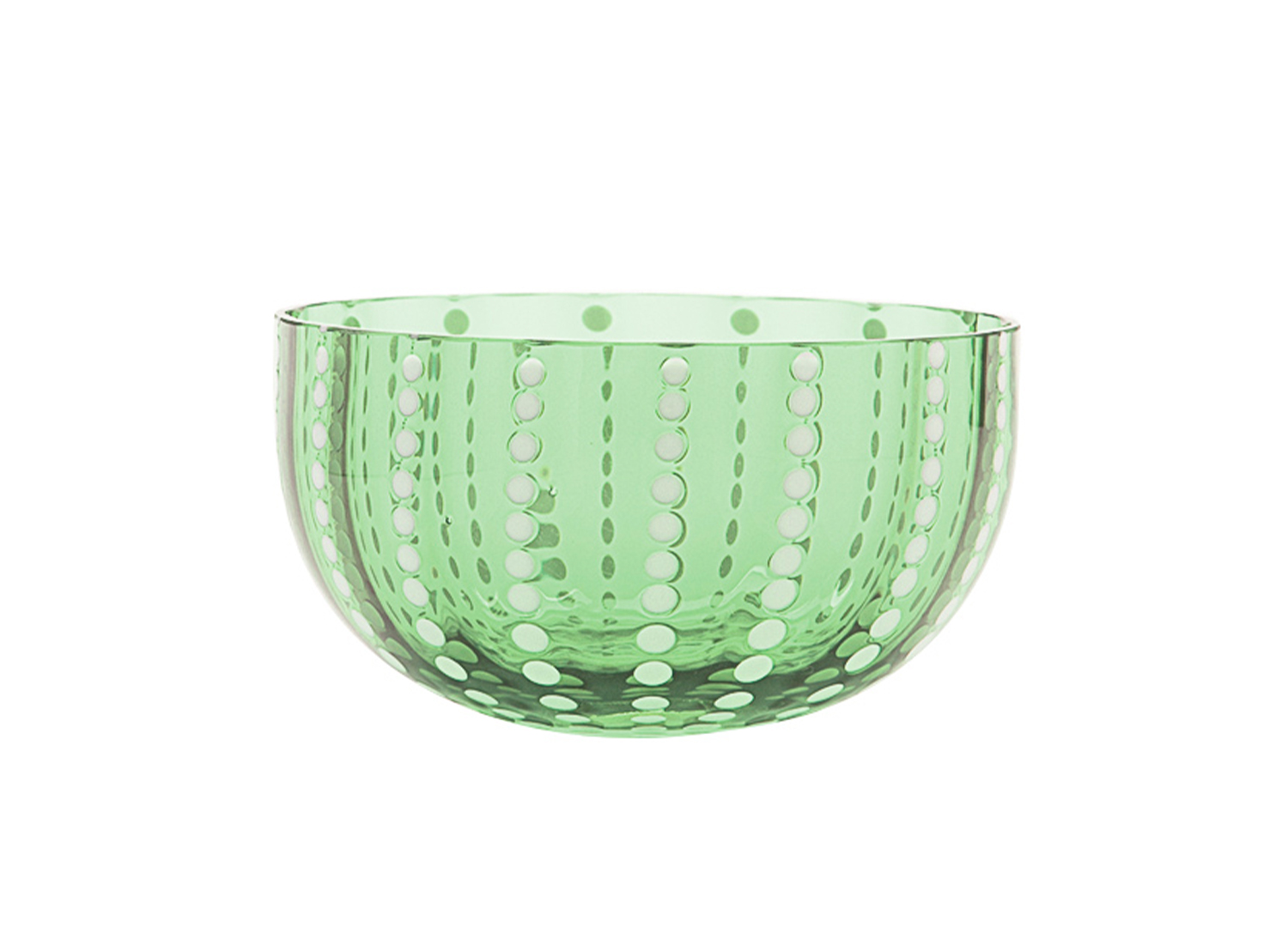 Land of Belle Green Perle Bowl