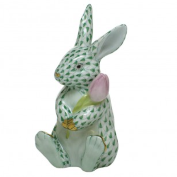 Herend Blossom Bunny