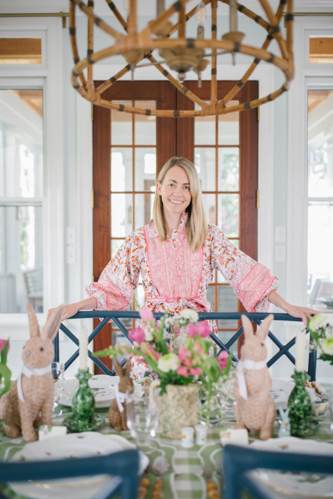 Jillian Eversole shares her tips for creating a welcoming Easter or spring table   Rhyme & Reason