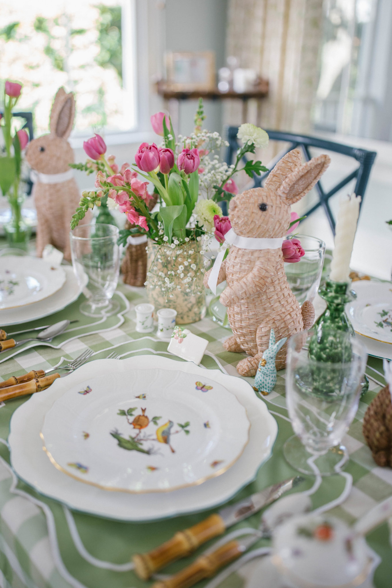 How to set a beautiful table for Easter | Rhyme & Reason