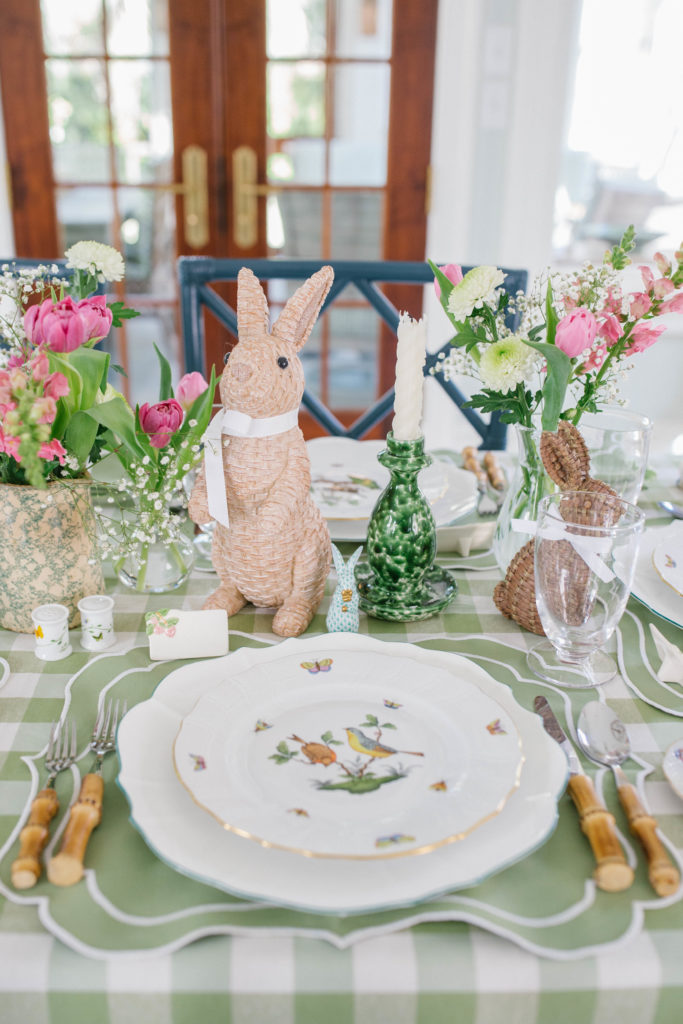 How to set a beautiful table for Easter   Rhyme & Reason