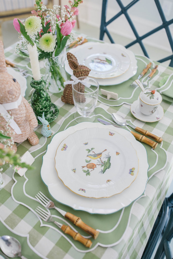 Tablescape Ideas For Easter   Rhyme & Reason