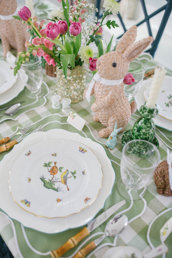 How to use your Herend China to set a spring or Easter table   Rhyme & Reason