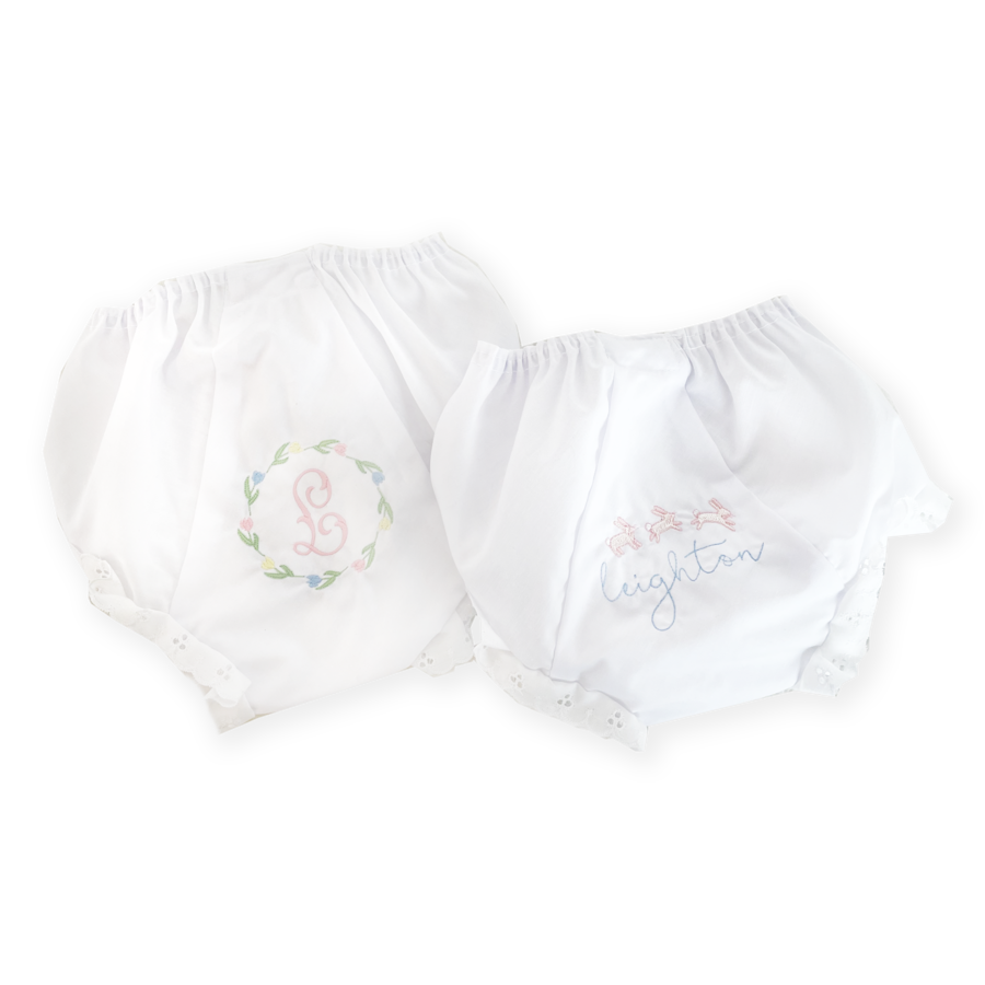 Biscuit Home Embroidered Eyelet Bloomer
