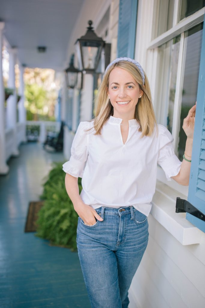 A guide to white tops for spring | Rhyme & Reason