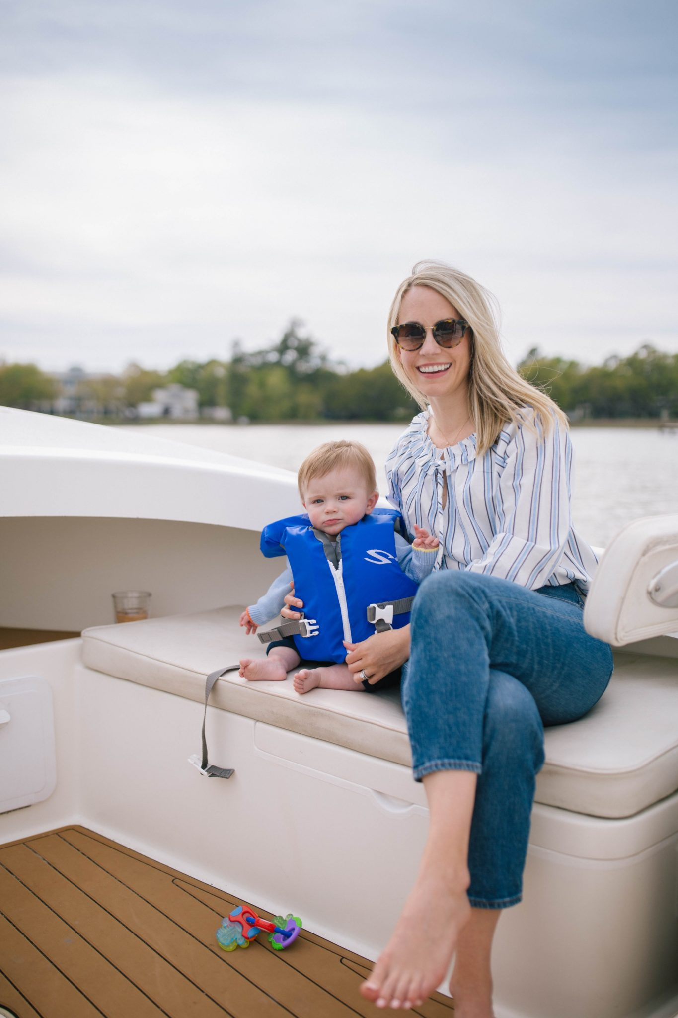 Rowan's First Boat Ride + Weekend Reads, No. 149 | Rhyme & Reason