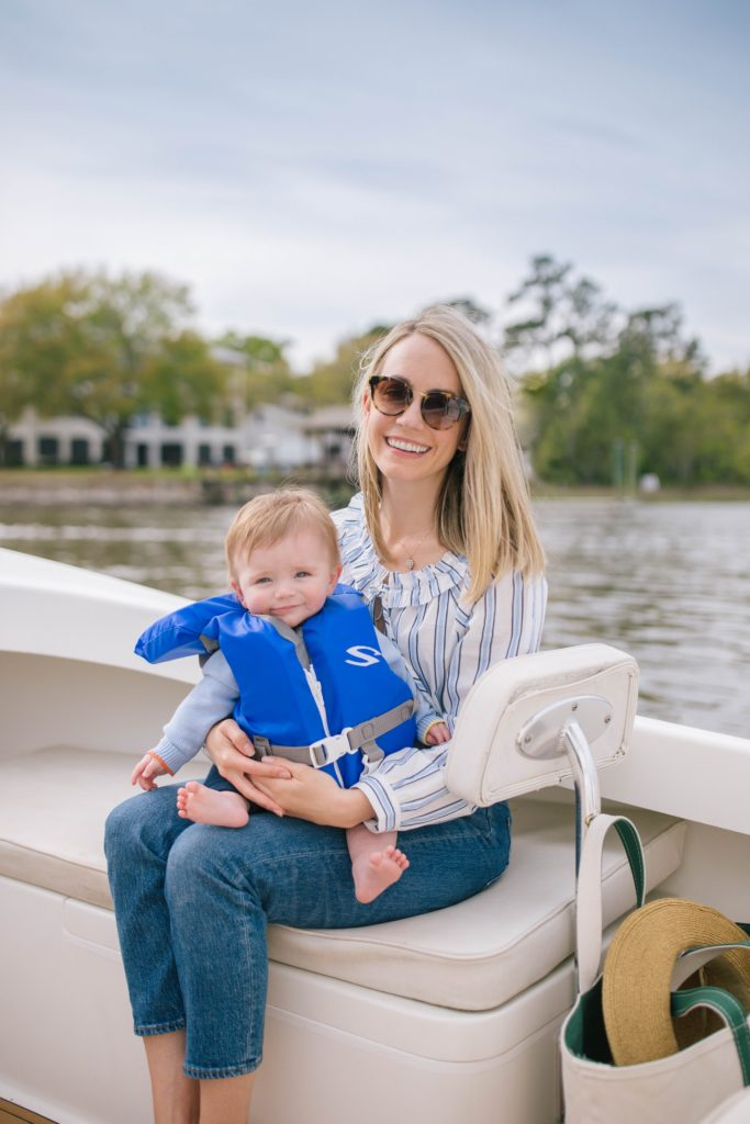 How to go boating with a baby + Weekend Reads, No.149 | Rhyme & Reason