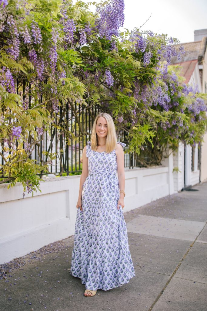 How to style a maxi dress for the spring | Rhyme & Reason