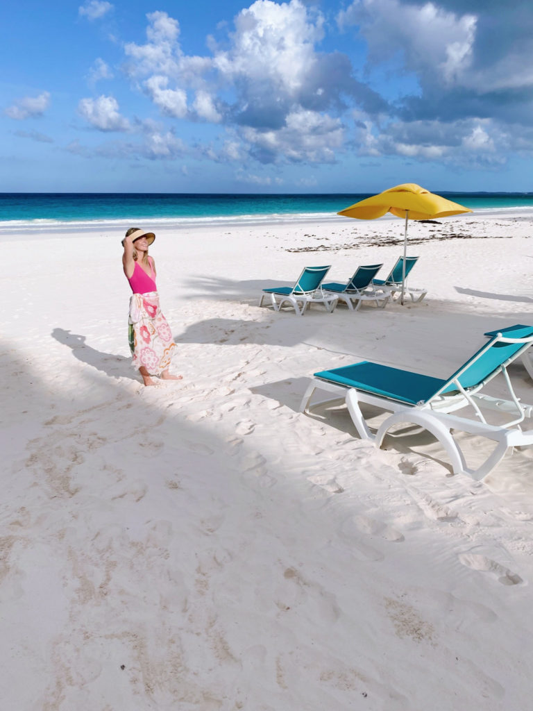 Soaking in the Pink Sand on Harbour Island | Rhyme & Reason
