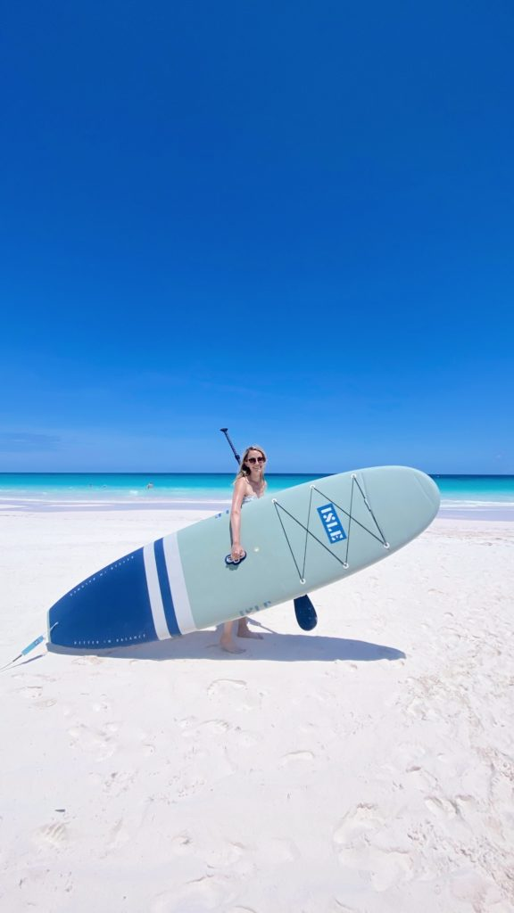 Where to rent paddle boards and boats on Harbour Island | Rhyme & Reason