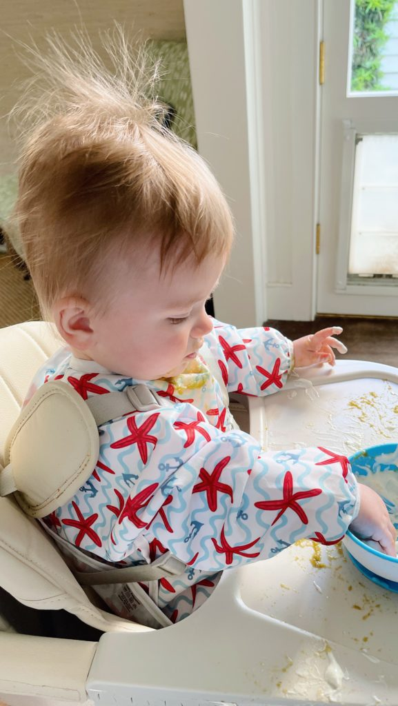 Tips for introducing babies to solids | What We Feed Rowan at 6-9 Months Old | Rhyme & Reason